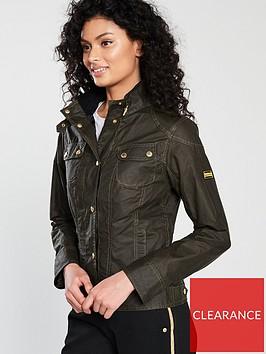 barbour-international-pitch-wax-high-collar-jacket-green