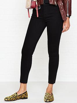 Alana High Rise Raw Hem Crop Skinny Jeans  Vesper