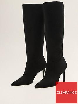 mango-knee-boots-black