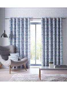 studio-g-tenby-eyelet-curtains-indigo