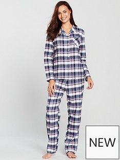 boux-avenue-pj-in-a-bag-navy-check