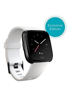 fitbit-versa-white-black-aluminium-exclusive-colour