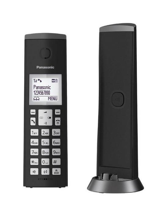 2f76d590430 Panasonic Panasonic KX-TGK220EB Digital Cordless Telephone with 1.5 inch LCD  Screen
