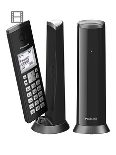 panasonic-kx-tgk222ew-digital-cordless-telephone-with-15-inch-lcd-screen-nuisance-call-blocker-and-answering-machine-twin-dect-black