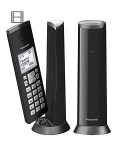 panasonic-panasonic-kx-tgk222ew-digital-cordless-telephone-with-15-inch-lcd-screen-nuisance-call-blocker-and-answering-machine-twin-dect-black