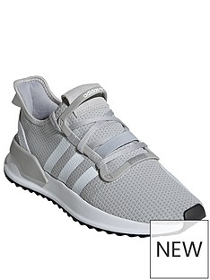 wholesale dealer 1e230 13686 adidas Originals U Path Run - Grey White