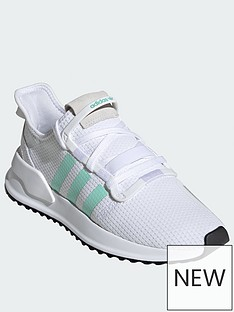 f784b39490682 adidas Originals U Path Run - White Mint