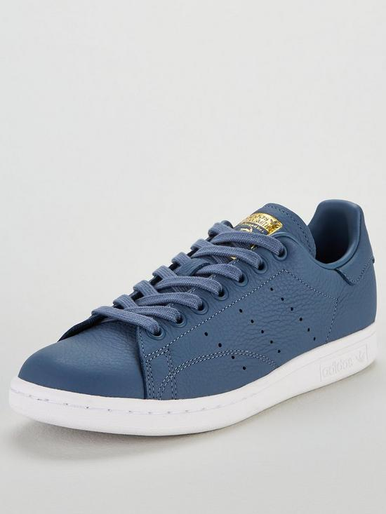 purchase cheap 07307 7c96b adidas Originals Stan Smith - Blue   very.co.uk