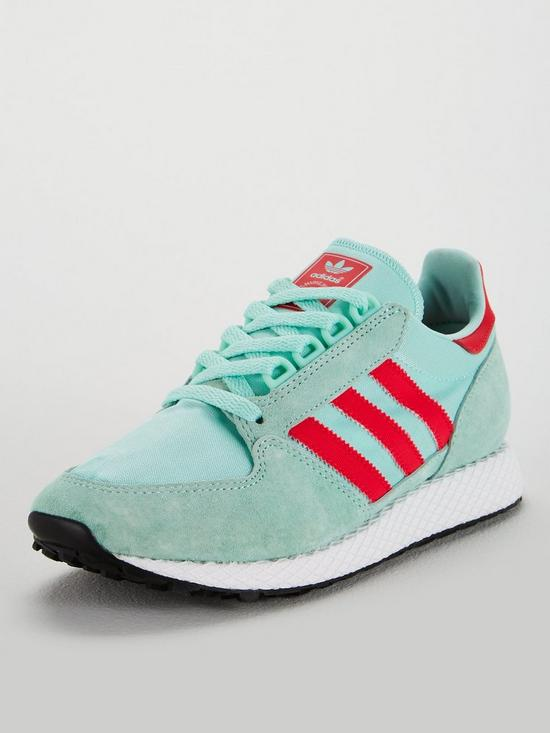 release date 18848 506b7 adidas Originals Forest Grove - Mint Coral