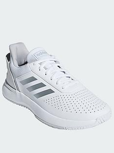 classic fit fd750 a4ad3 adidas Courtsmash - White