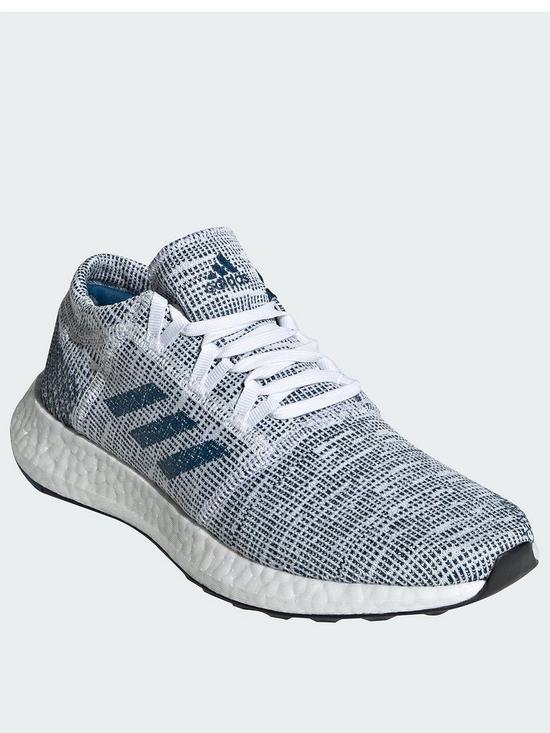 6fd6b3fe4bbd8 adidas Pureboost Go - Blue White
