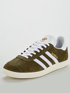 adidas-originals-gazelle-khakiwhite