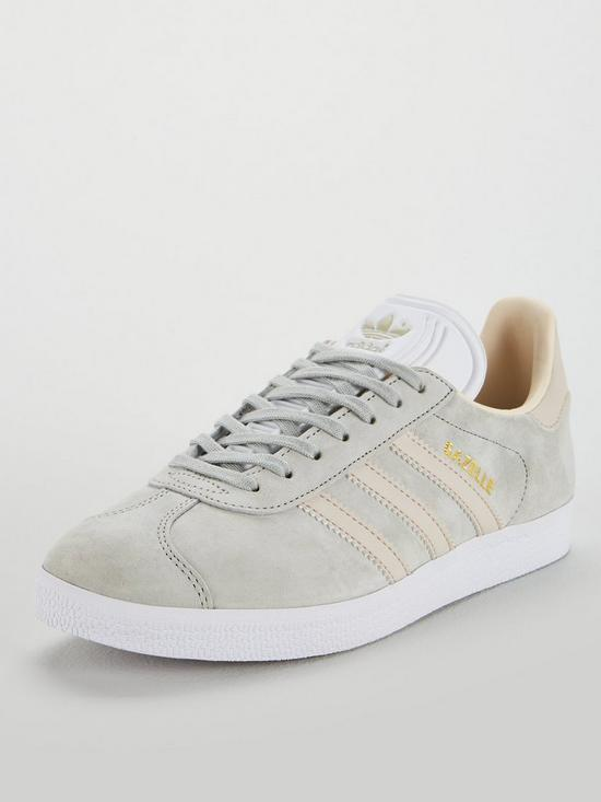 cheap for discount 15fdc 2ac8d adidas Originals Gazelle - Grey Pink   very.co.uk