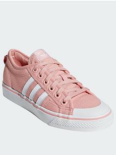huge discount d3f01 79730 adidas Originals Nizza - PinkWhite