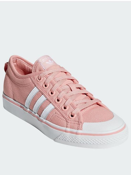 85fb63fc6a16 adidas Originals Nizza - Pink White