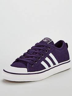 adidas Originals Nizza - Purple White 90b2d229d
