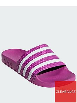 adidas-originals-adilettenbsp--pinkwhitenbsp