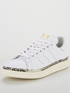 06109a40140 adidas Originals Stan Smith New Bold - White