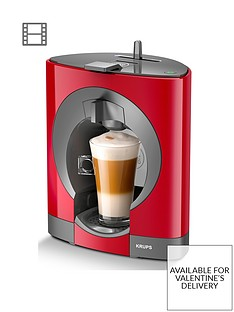 Krups NESCAFÉ® Dolce Gusto® Oblo Manual Coffee Machine - Red
