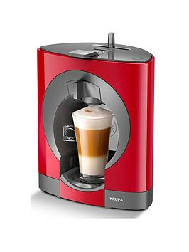 Krups NescafÉ&Reg; Dolce Gusto&Reg; Oblo Manual Coffee Machine – Red