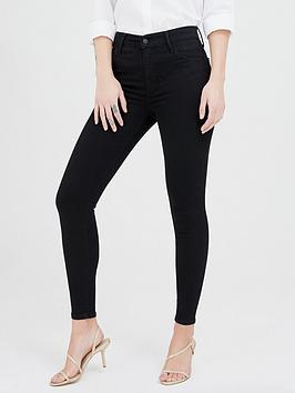Levis 720™ High Rise Super Skinny Jeans  Black
