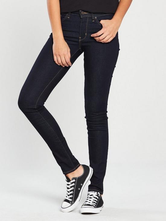 79f81fa2cc9 Levi's 711™ Skinny Jeans - Black | very.co.uk