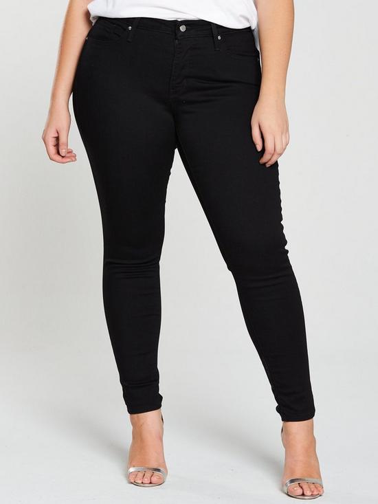 62af8c0e76e4e Levi's Plus Plus 310™ Shaping Super Skinny Jeans - Black | very.co.uk