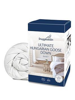 Snuggledown Of Norway Hungarian Goose Down 10.5 Tog Duvet