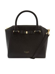 ted-baker-janne-bow-detail-zip-tote-bag-blacknbsp