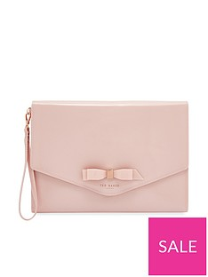 ted-baker-cersei-bow-envelope-pouch-bag-pink