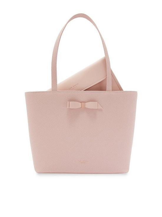 Ted Baker Jjesica Bow Detail Shopper Bag - Pale Pink  ff84e1dee