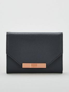 ted-baker-addalanbspbow-mini-bark-purse-charcoal