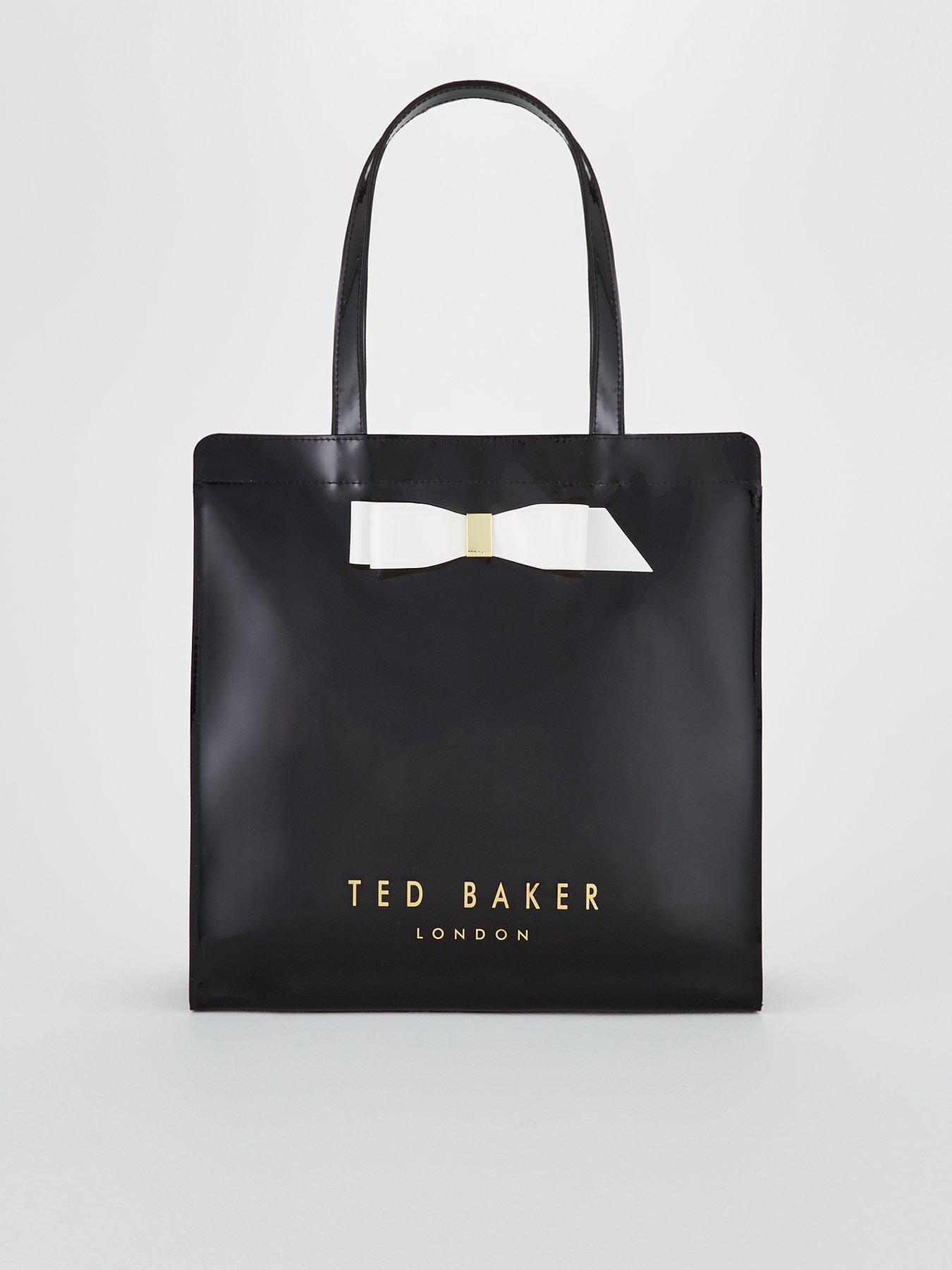 Large Icon Detail Baker Bow Almacon Ted Bag Black gPq1FAa