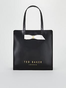 ted-baker-almacon-bow-detail-large-icon-bag-black