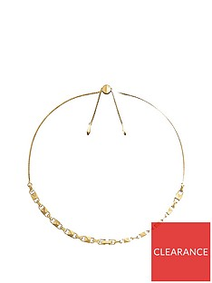 michael-kors-michael-kors-14ct-gold-plated-sterling-silver-slider-necklace