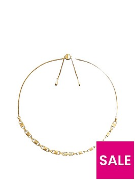 michael-kors-michael-kors-14ct-gold-plated-sterling-silver-slider-necklace