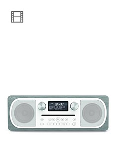 Pure Evoke C-D6 Grey Oak Bluetooth DAB Radio CD Player
