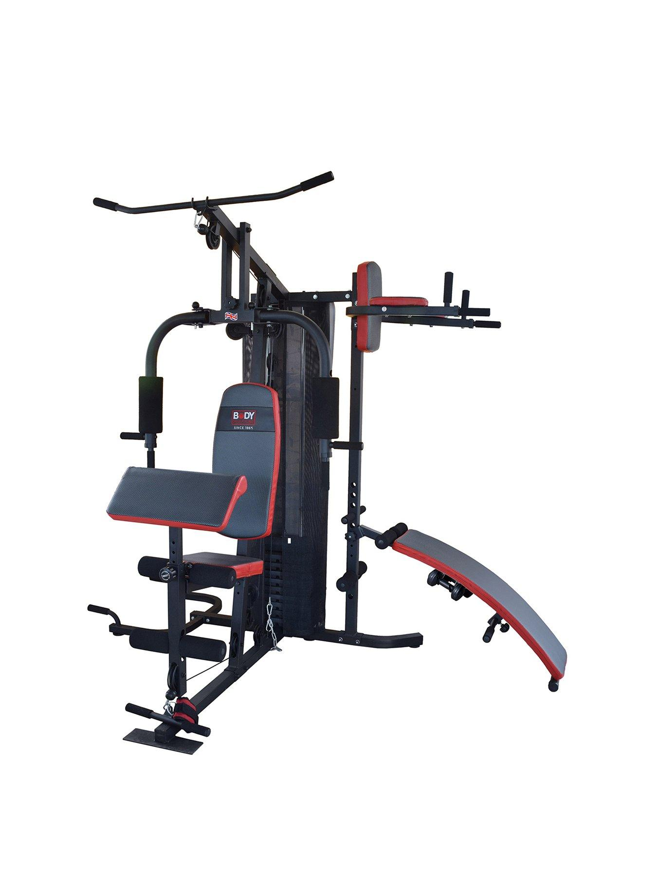 Body sculpture kg multi gym with sit up bench and leg raise