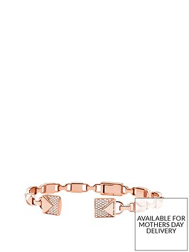 michael-kors-michael-kors-semi-precious-14ct-rose-gold-plated-sterling-silver-centre-back-hinged-cuff-bracelet