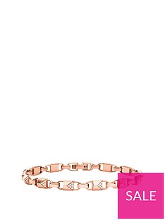 michael-kors-michael-kors-14ct-rose-gold-plated-sterling-silver-and-pave-bracelet