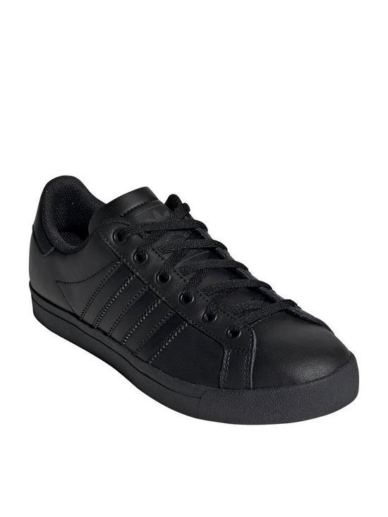 348a924c7d6d0e adidas Originals Coast Star Childrens Trainers - Black | very.co.uk