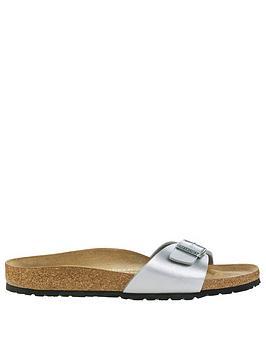 birkenstock-madrid-one-strap-sandals-silver-metallic