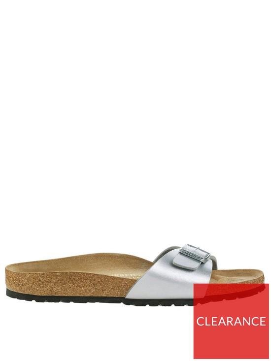 b75277fcf Birkenstock Madrid One Strap Sandals - Silver Metallic
