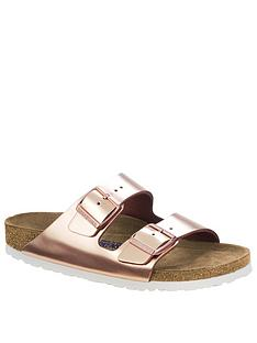 birkenstock-arizona-two-strap-narrow-fit-sandals-rose-gold