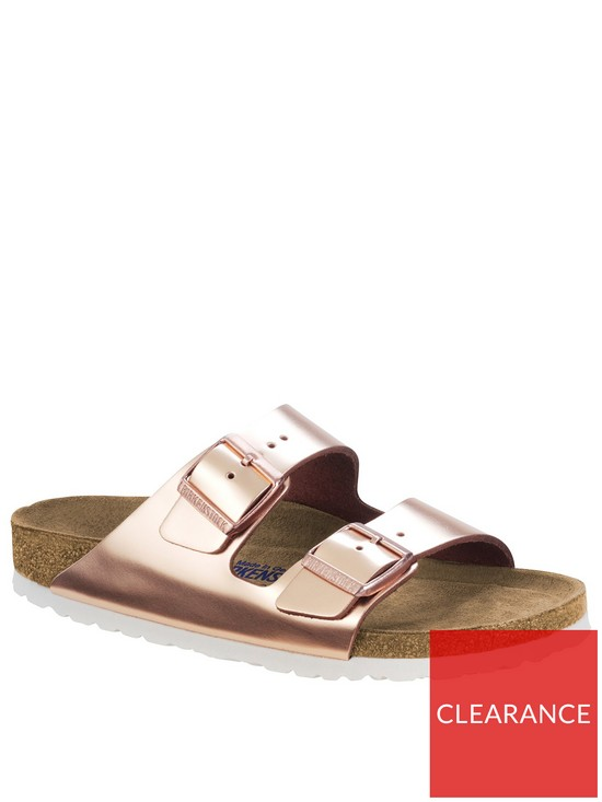 Narrow Fit Strap Arizona Sandals Rose Two GoldVery Birkenstock w0vNOm8n