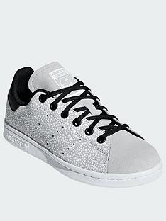 8231ede37ce5 adidas Originals Stan Smith Junior (lace) - Grey
