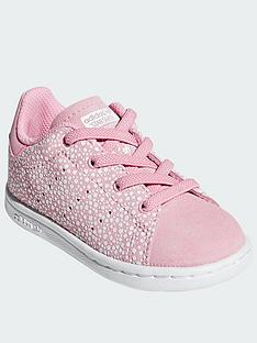51ce632269400 adidas Originals Adidas Originals Stan Smith Infant Trainers (lace)