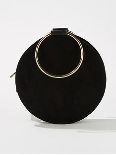 miss-selfridge-metal-circle-cross-body-bag-black