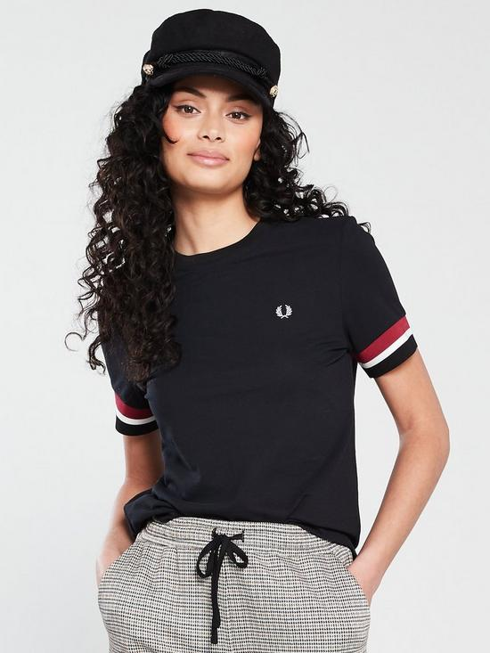ab6c3b651 Fred Perry Bold Tipped T-shirt