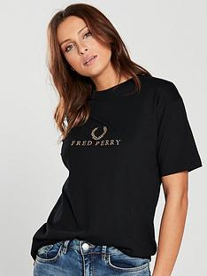 fred-perry-embroidered-logo-t-shirt-blacknbsp